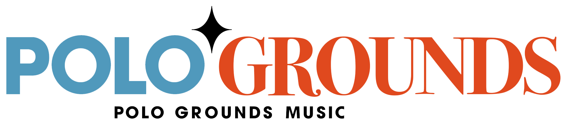 Polo Grounds Music Logo